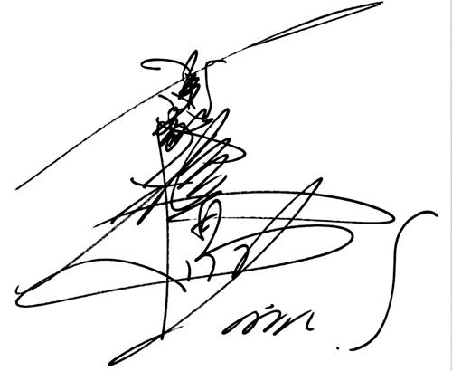 萧敬腾亲笔寄语给歌迷的手绘日记簿