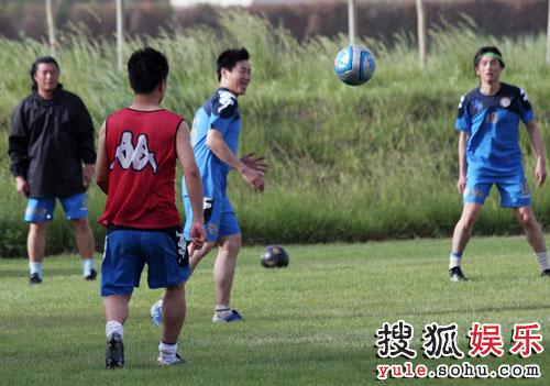 图:梦舟体育明星足球队集训 -  06