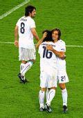 图文:意大利2-0法国 皮尔洛状态回升