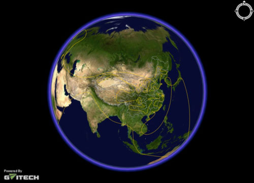 伟景行发布数字地球 中国在线地图跨进三维时
