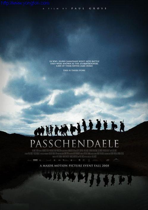 《帕斯尚尔战役》海报