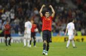 图文:[欧洲杯]西班牙2-1希腊 西甲新科金靴