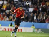 幻灯:西班牙2-1希腊 西甲新科金靴国家队首球