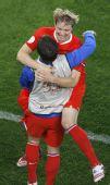 幻灯:俄罗斯2-0瑞典 伊布黯然对手