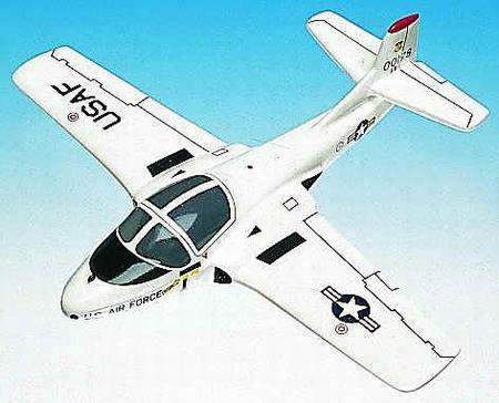 美国空军的T-37A教练机已经退役