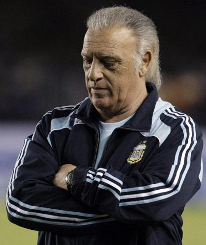 图文:[世预赛]巴西0-0阿根廷 阿根廷主帅巴西莱