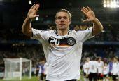 图文:德国3-2葡萄牙晋级四强 波多尔斯基庆祝