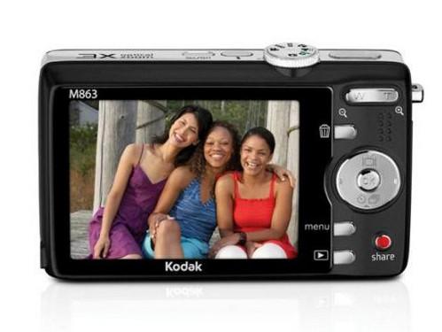 家用820万像素数码相机 柯达M863促销套装