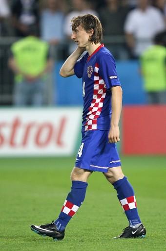 图文:土耳其点球4-2克罗地亚 莫德里奇欲哭无泪
