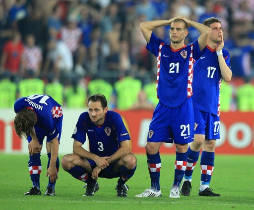 图文:土耳其点球4-2克罗地亚 格子军告别欧杯