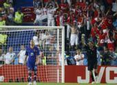 图文:土耳其点球4-2克罗地亚 鲁斯图欢呼