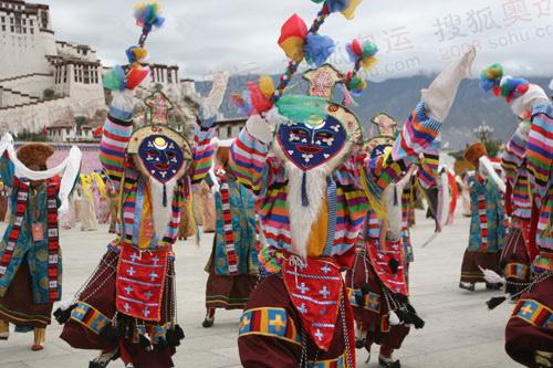 别具一格的民族舞蹈
