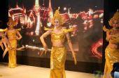 傣族舞蹈上演 索尼展台精彩表演秀