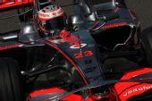 图文:[F1]法国大奖赛排位赛 科瓦莱宁过弯瞬间