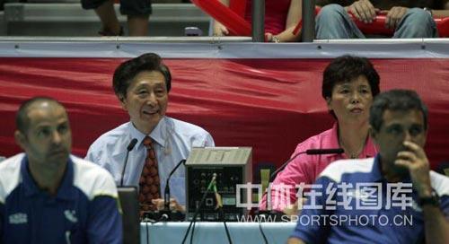 宋世雄笑看比赛