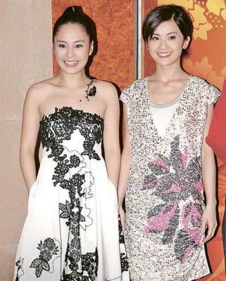 蔡卓妍被钟欣桐拖累,不入明星形象榜百名。