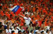 图文:荷兰1-3俄罗斯 英勇的俄罗斯球迷