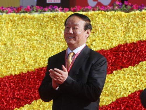 奥组委执行副主席蒋效愚出席起跑仪式