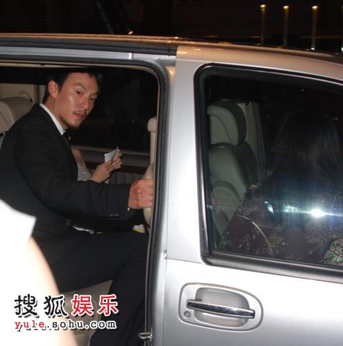 图:第十一届上海国际电影节闭幕式结束-张震