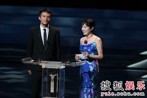 图:第十一届上海国际电影节闭幕-张震桃井熏