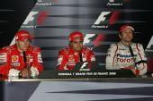 图文:[F1]法国大奖赛正赛 赛后新闻发布会