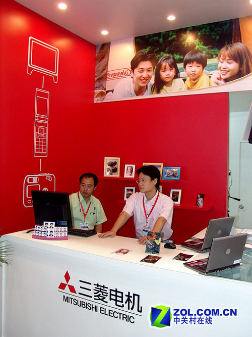 P&E08:三菱推出数码照片自助输出系统