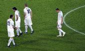 图文:西班牙4-2意大利 球员沮丧离场