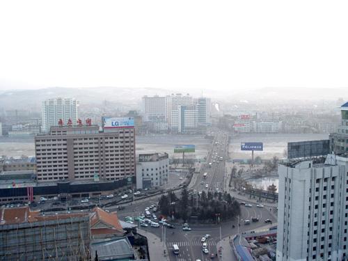 延吉市鸟瞰