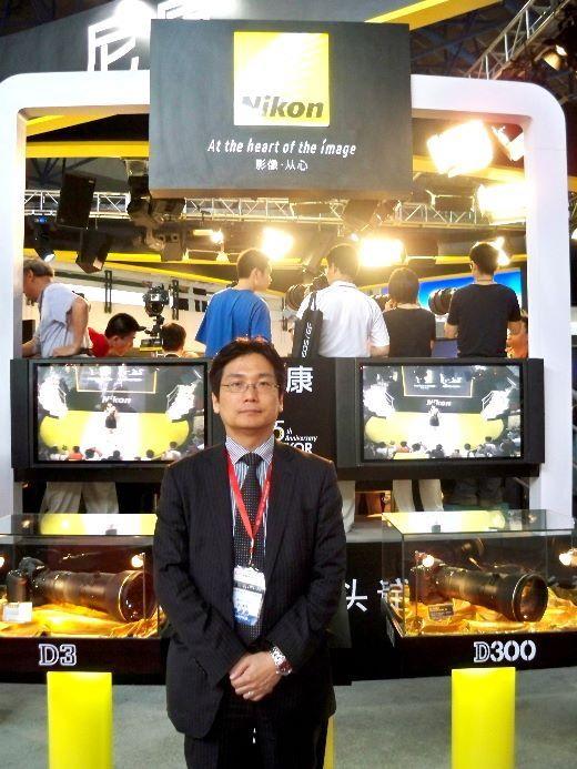 尼康中国副总经理五井力先生