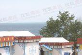 图文:圣火在青海湖传递 结束仪式现场看青海湖