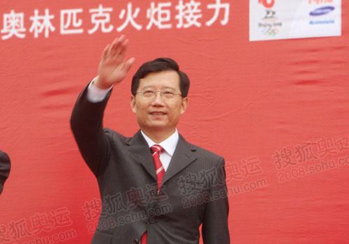 青海省委书记强卫出席结束仪式