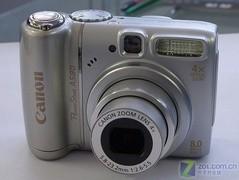 佳能A系相机降价 26日百款数码相机价格表