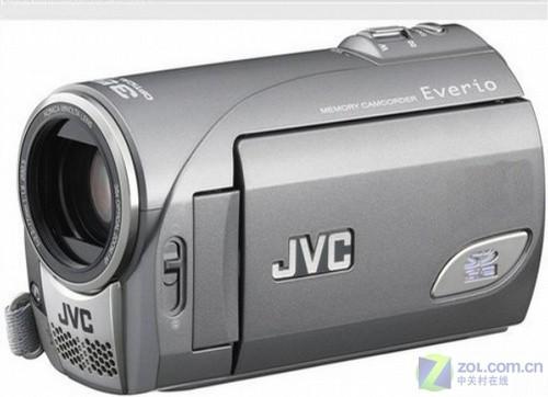 80万象素轻巧摄像机 JVC MS100中关村上市