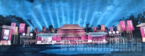 《赤壁》首映礼舞台效果图 百米红毯迎吴宇森