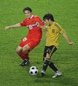 幻灯:西班牙3-0俄罗斯 席尔瓦推射破门锦上添花