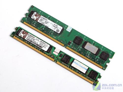 绝对罕见 金士顿窄PCB板1GB内存到货