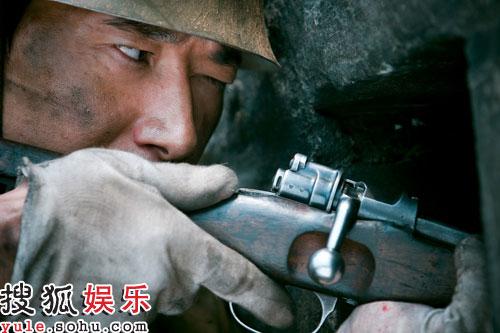 浩二再次迎接挑战,受邀参加著名导演高希希执导的电视剧《狙击手》