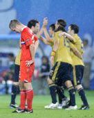 图文:俄罗斯0-3西班牙 悲喜对比强烈