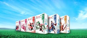 伊利奥运纪念装纯牛奶6款包装图
