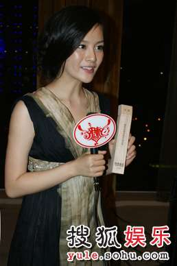 刘孜获奖后接受媒体采访