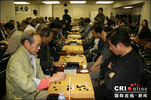 中国围棋传入朝鲜、日本