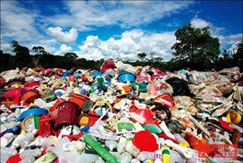 塑料垃圾场