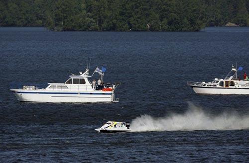 游艇与F1赛艇竞速