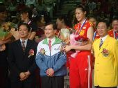 图文:中国女排3-2意大利 蕊蕊获得香港站MVP