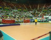 图文:中国女排3-2意大利 颁奖仪式隆重举行