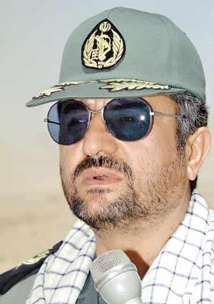 伊朗革命卫队总司令穆罕默德·阿里·贾法里。