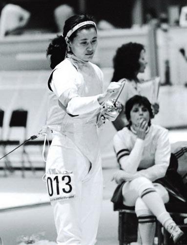 1984年奥运会,栾菊杰获得了中国女子花