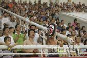图文:[中超]河南VS山东 现场疯狂球迷