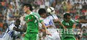图文:[中超]天津1-3北京 徐云龙防守