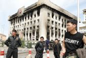 蒙古国议会选举引骚乱 5人死亡300多人受伤(图)